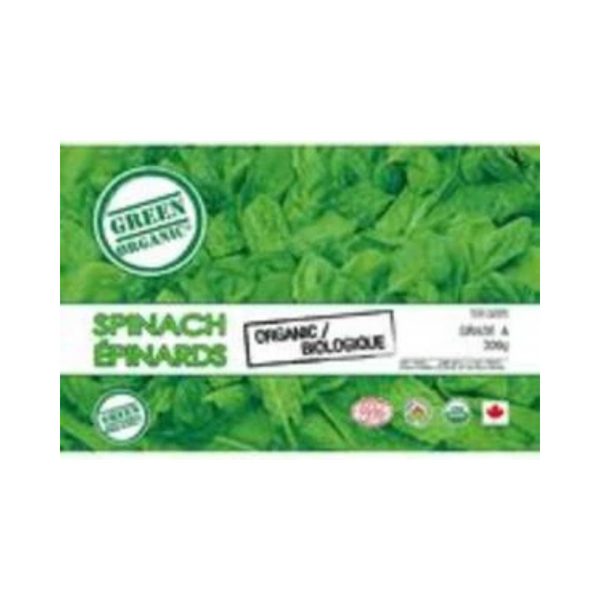Green Organic Frozen Spinach 300G