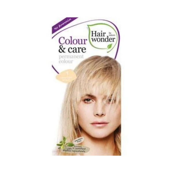Hair Wonder Colour & Care Bery Light Blonde Dye