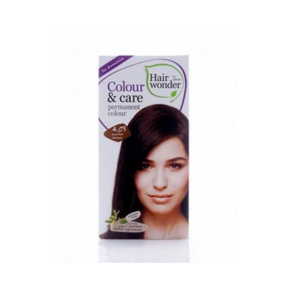 Hair Wonder Colour & Care Mocha Brown Dye