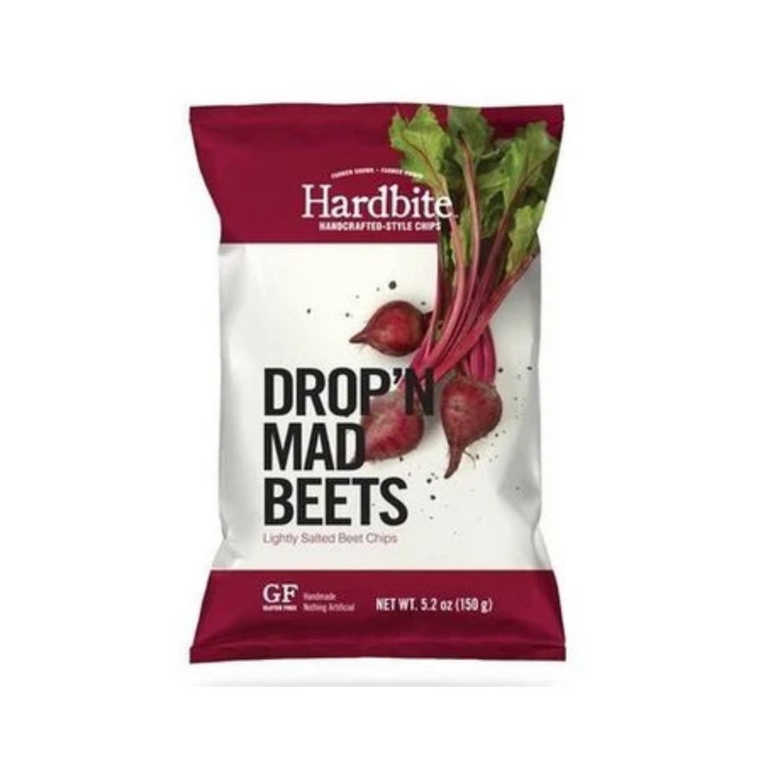 Hardbite Handcrafted Lightly Salted Beet Chips 150G