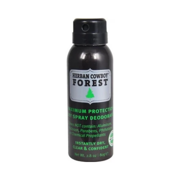 Herban Cowboy Deodorant Spray  Forest 80G