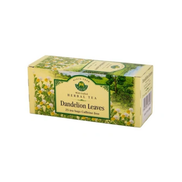 Herbaria  Dandelion Leaves Tea 25 Tea Bags