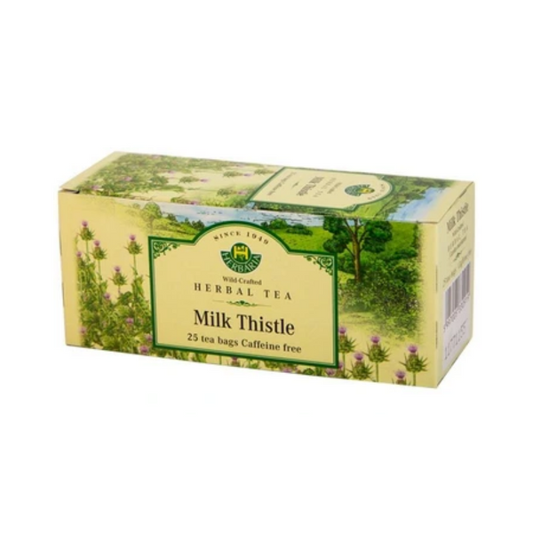 Herbaria  Milk Thistle Tea 25 Tea Bags