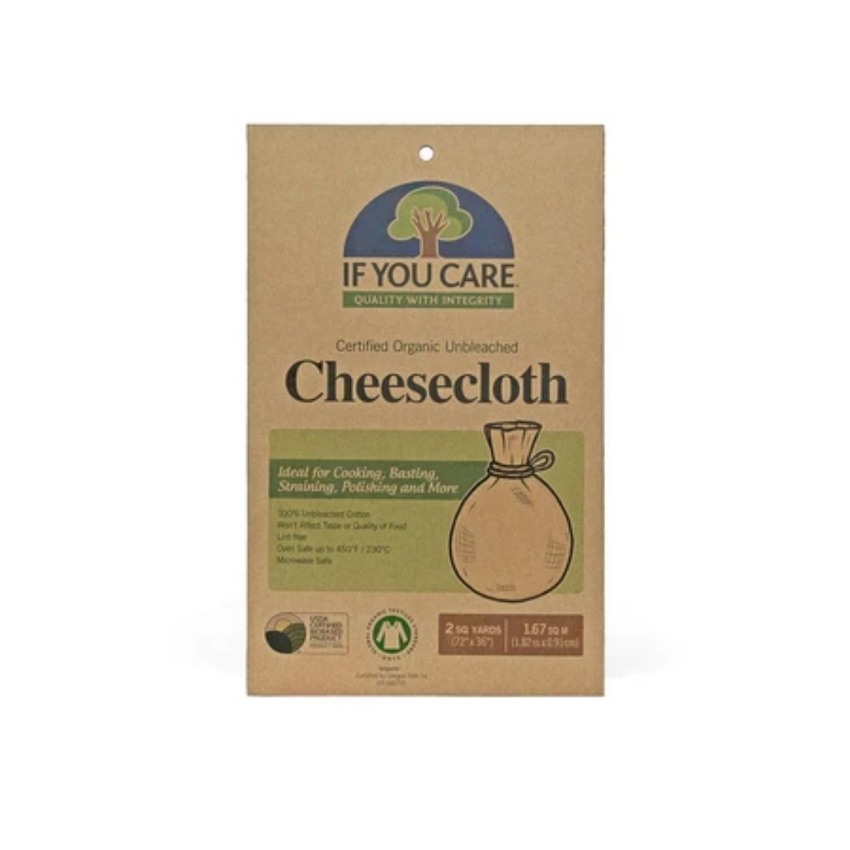IF YOU CARE Unbleached 72x36-Inch Cheesecloth