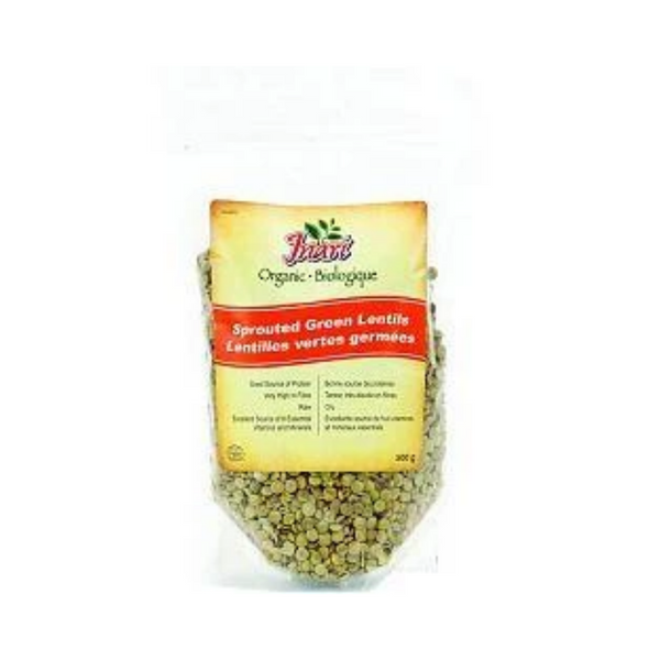 Inari Organic Green Lentils Sprouted 500G