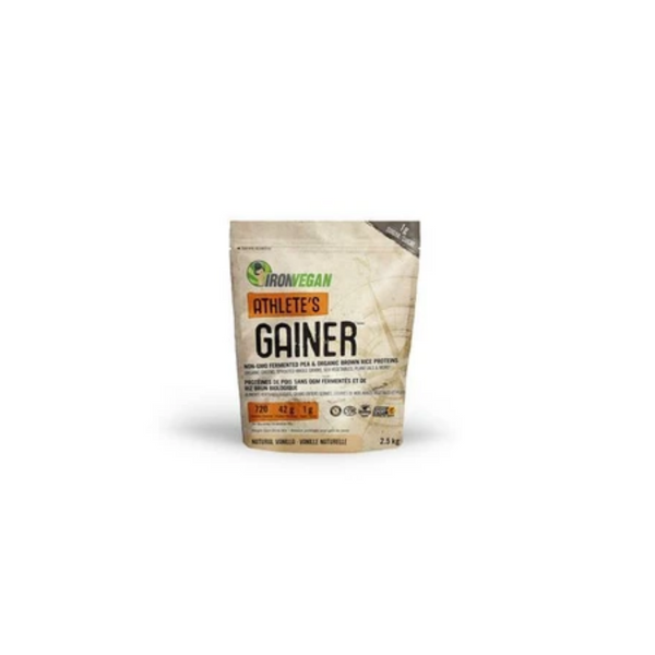 Iron Vegan Athlete's Gainer Natural Vanilla 2.5 kg