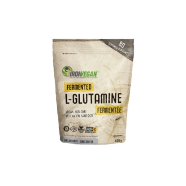 Iron Vegan Fermented L-Glutamine 400g Powder Unflavoured