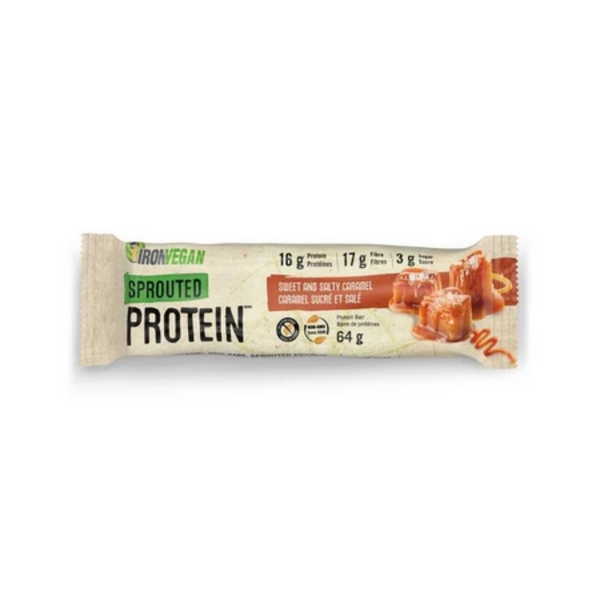 Iron Vegan Protein Bar Sweet & Salty Caramel 64g