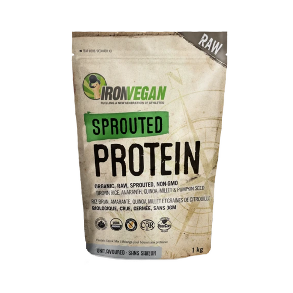 IronVegan Sprounted Protein Unflavoured 1kg