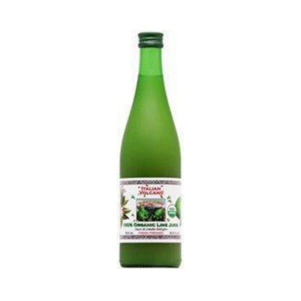 Italian Volcano Organic Lime Juice 500ML