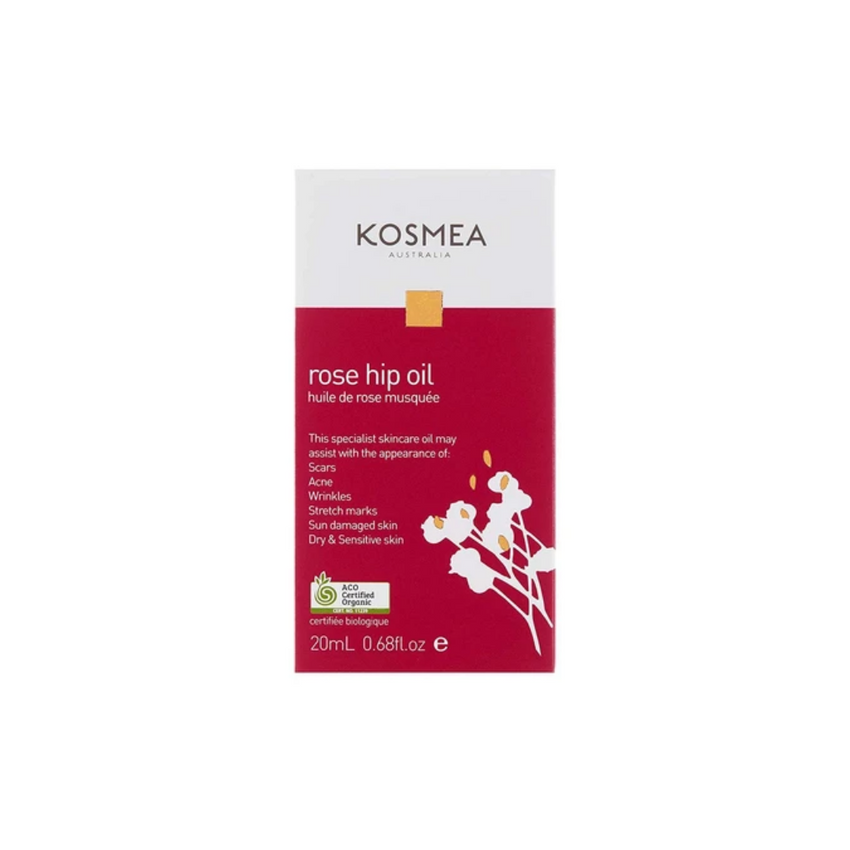 Kosmea Certified Organic Rose Hip Oil 20ML
