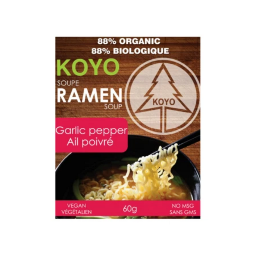 Koyo Garlic Pepper Ramen 60G