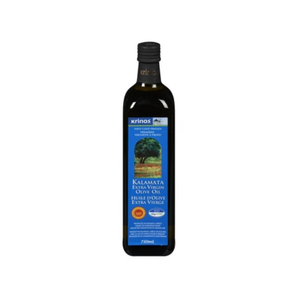 Krinos Kalamata Extra Virgin Olive Oil 750ML