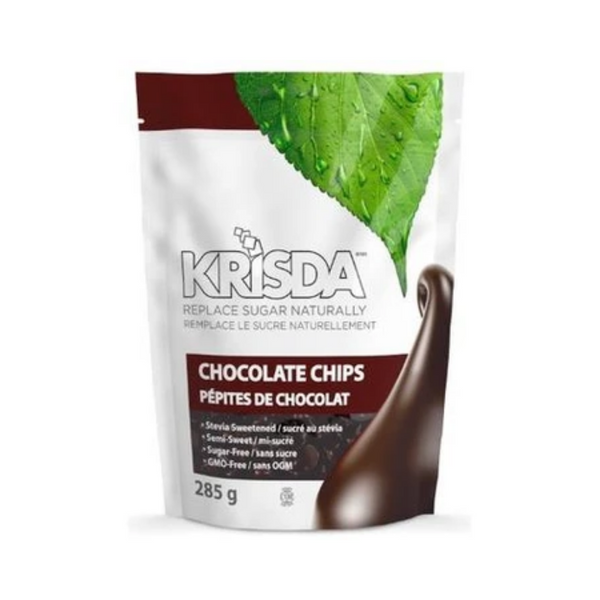 Krisda Stevia Semi-Sweet Chocolate Chips 285G