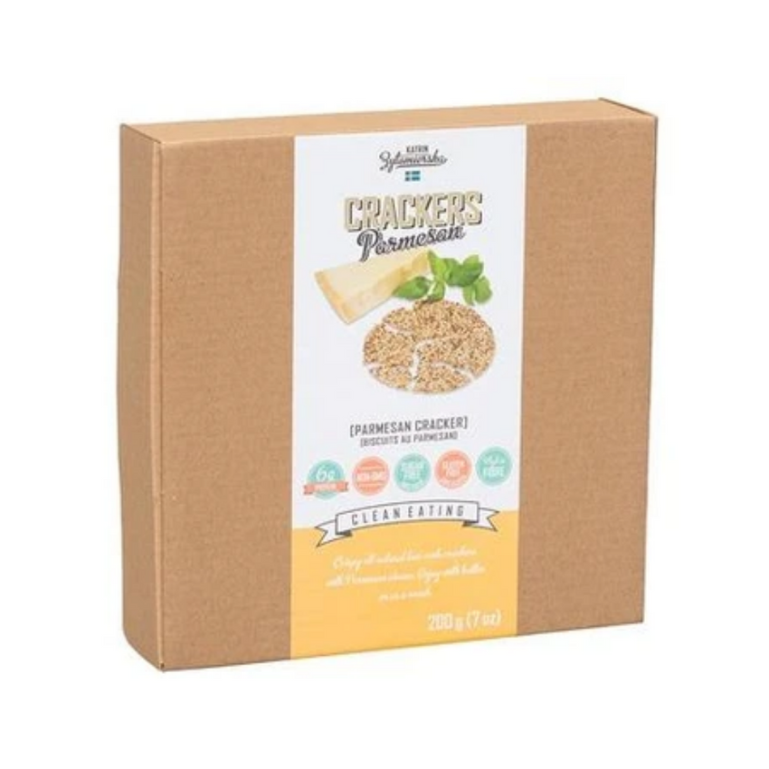 KZ Clean Eating Parmesan Crackers 200G