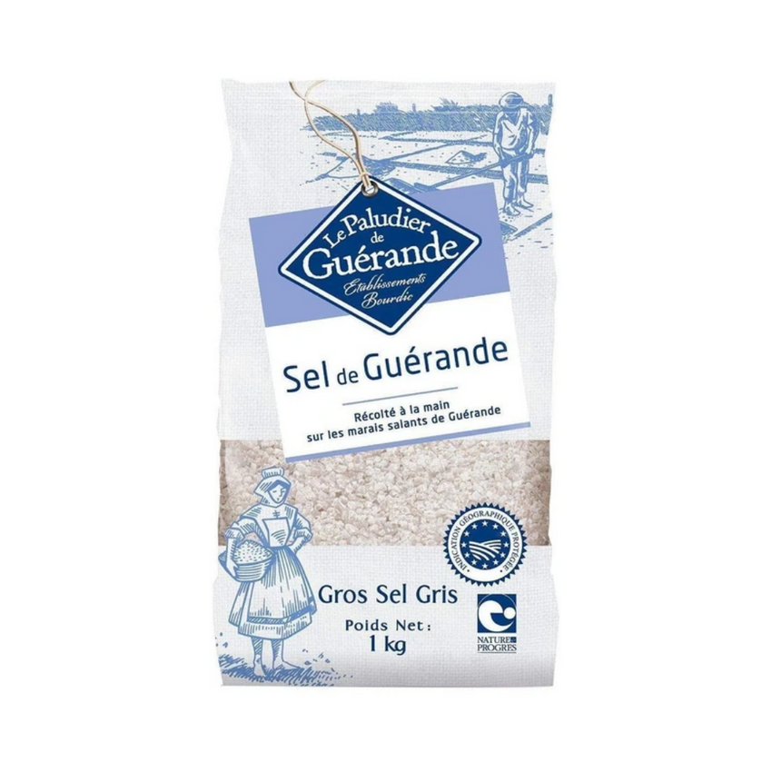 Le Paludier Sea Salt - Coarse Grey Salt 1KG