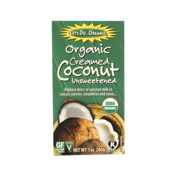 Let's Do...Organic Creamed Coconut 200G