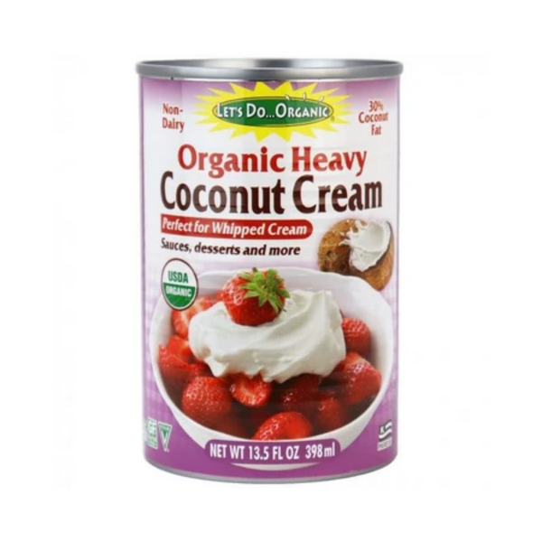 Let's Do...Organic Organic Heavy Coconut Cream, 398ML