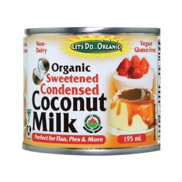 Let's Do Organic Organic Sweetened Condensed Coconut Milk 195ML