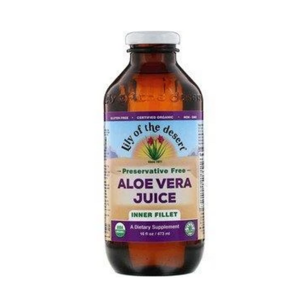 Lily Aloe Juice Inner Fillet 473ml