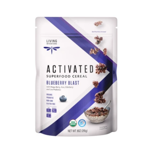 Living Intentions Activated Blueberry Blast Cereal 255G