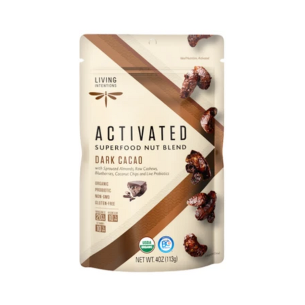 Living Intentions Activated Dark Cacao 113G