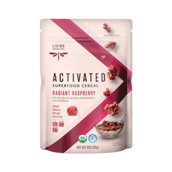 Living Intentions Activated Superfood Cereal Radiant Raspberry 225G