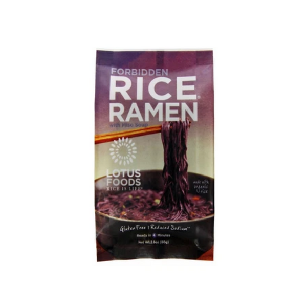 Lotus Rice Forbidden Rice Ramen Black Rice 80G