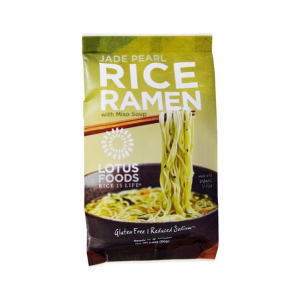 Lotus Rice Forbidden Rice Ramen Jade Pearl 80G