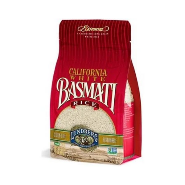 Lundberg California White Basmati Rice 907G