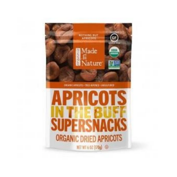Made in Nature Dried Apricot Organic 170G