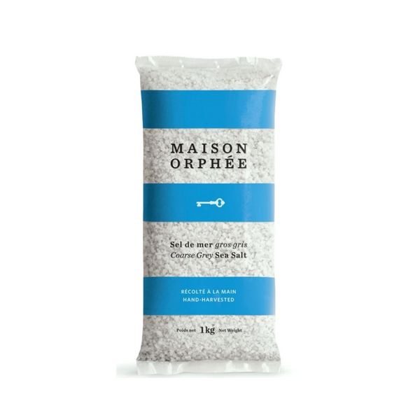 Maison Orphee Coarse Grey Sea Salt 1KG