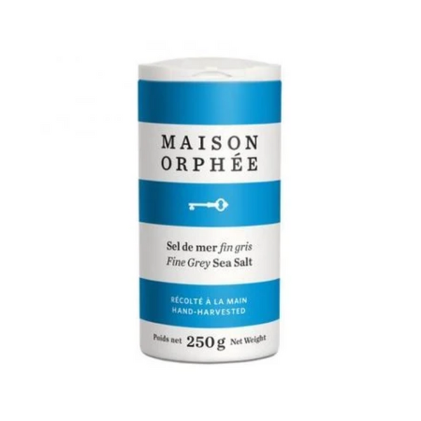 Maison Orphee Fine Grey Sea Salt 250G