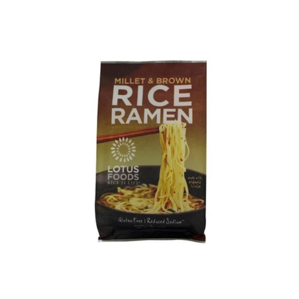 Millet & Brown Rice Ramen 80G