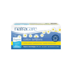Natracare Super Cotton Tampons 16