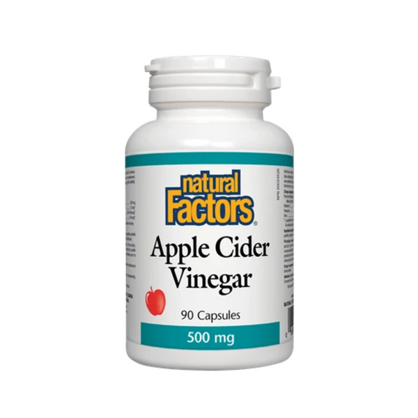 Natural Factors Apple Cider Vinegar 90CAP