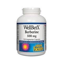 Natural Factors Berberine 500 120Veg Caps