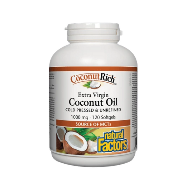 Natural Factors Coconut Oil 120SG