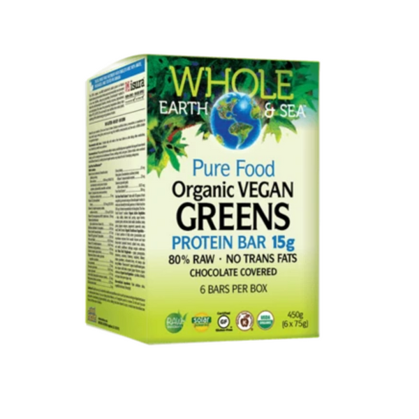 Natural Factors Ord Vegan Greens 75G