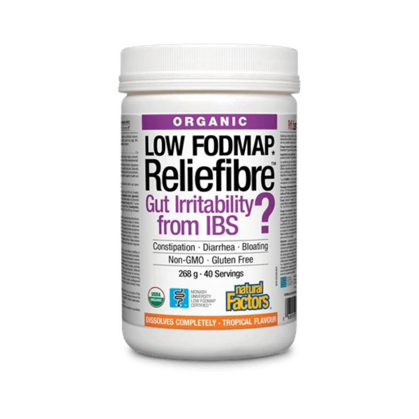 Natural Factors Reliefiber Pwd Tropic