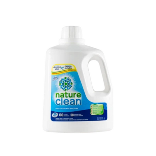 Nature Clean Laundry Liquid 3L