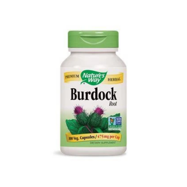Nature's Way Burdock Root 475mg 100Vcaps