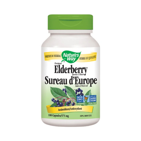 Nature's Way Elderberry 100Vcaps