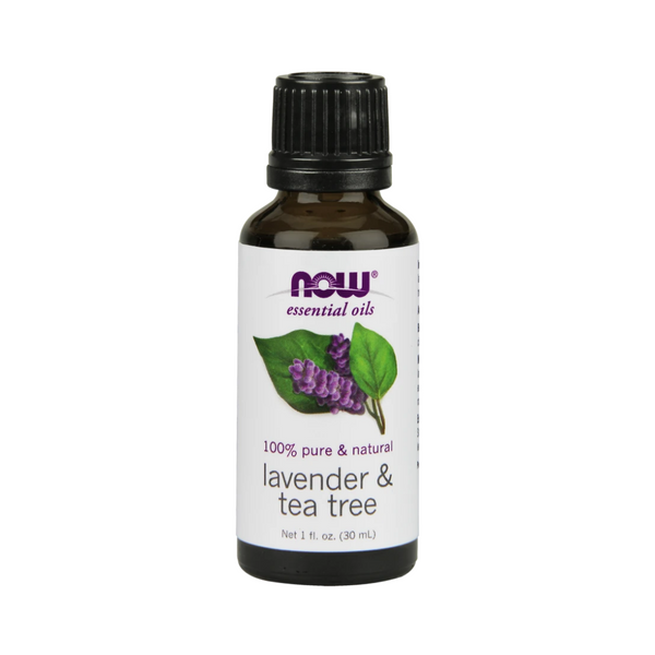 NOW Lavender & Tea Tree Oil 30ml