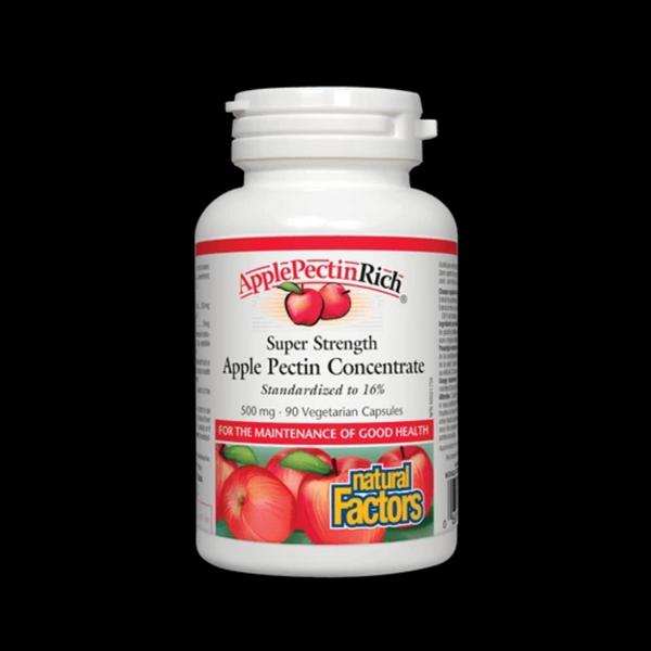 Natural Factors Apple Pectin 500mg 90 Caps