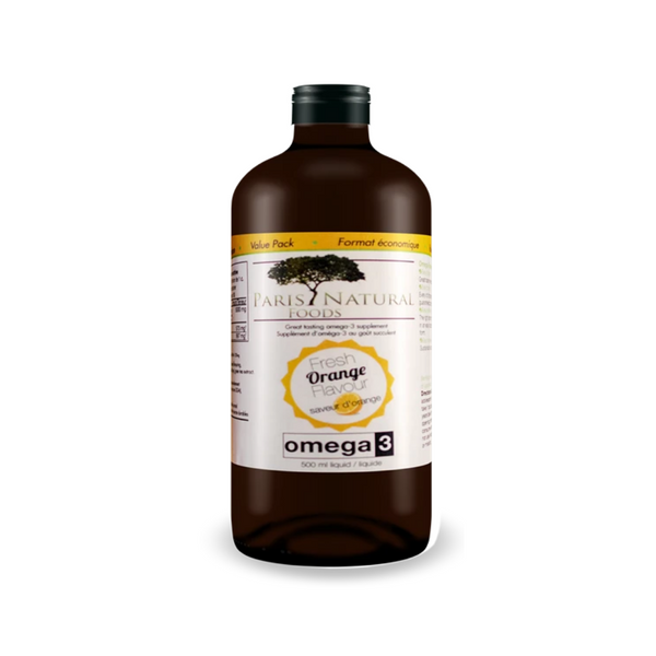 PARIS NATURAL FOODS OMEGA 3 LIQUID 500ML