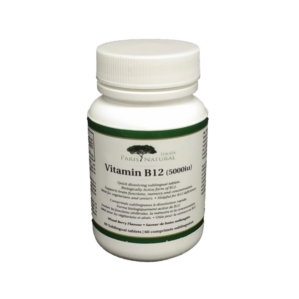 PNF Vitamin B12 5000IUs 75 SubLingual Tablets