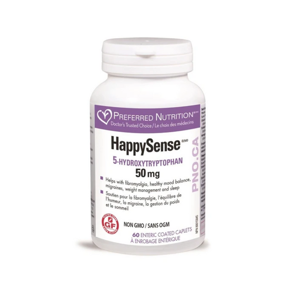 Preferred Nutrition Happy Sense 50mg 60Caps
