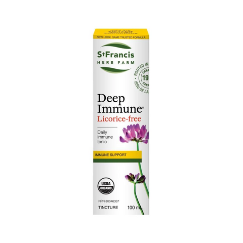 St. Francis Deep Immune 100ml Licorice Free