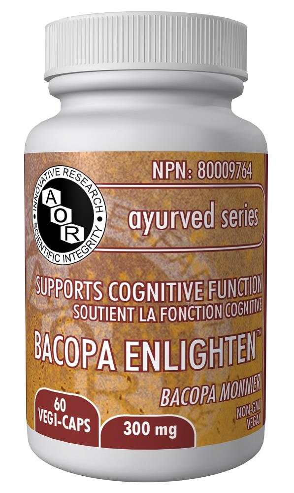 A.O.R Bacopa Enlighten 500mg 90caps